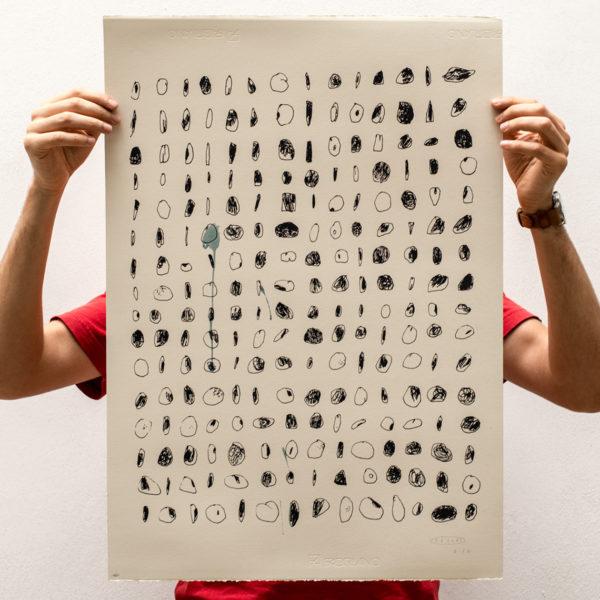 Selectes Stones (acquerellato), Tellas