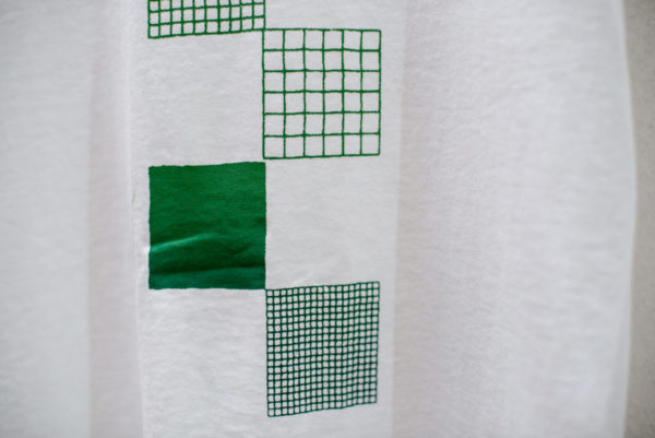 Movimento in diagonale di vuoti e pieni, Alberonero